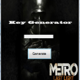 This is the 100% working Key Generator for the new game Metro Last Light. Download and extract the .exe file. It 100% working and use real exist Key's. Start the […]